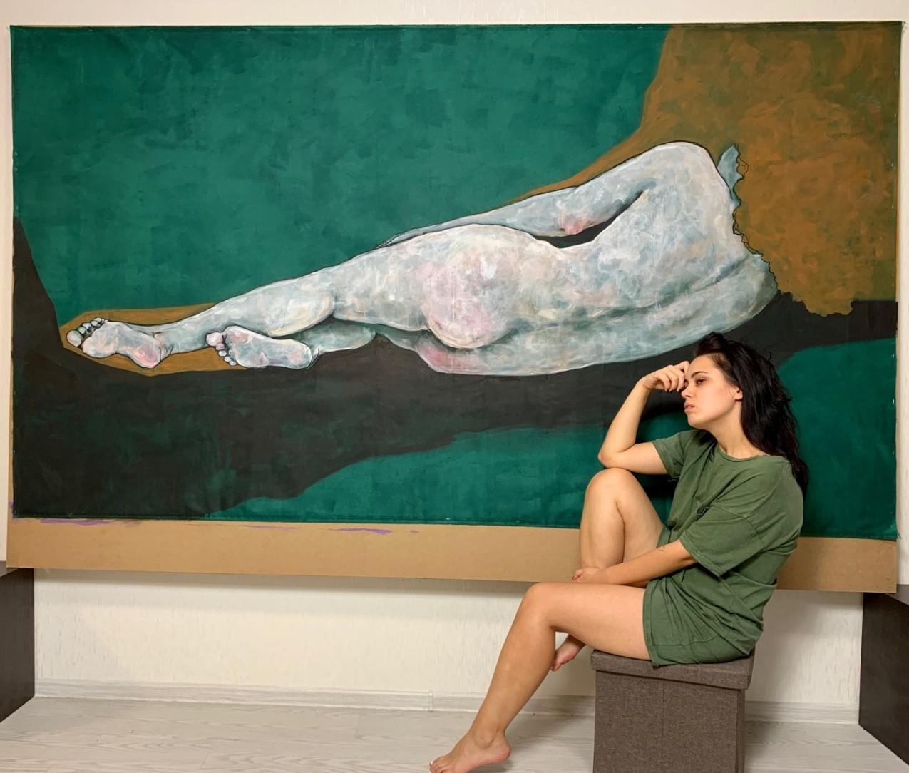 Anastasiia Usenko, a Ukrainian Artist Glorifying Daily Normality